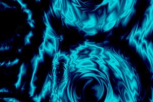 纯CSS实现科幻波纹动态变幻特效动画