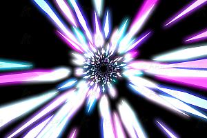 炫酷3D时空隧道走向未来canvas特效动画