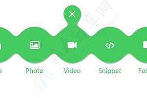 CSS3 SVG创意水滴状粘性导航菜单特效动画代码