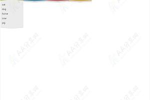 jQuery创意不规则波浪型垂直下拉菜单CSS3特效代码
