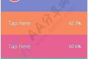 纯CSS3实现竖直多彩菜单带头像文字说明过渡动画特效
