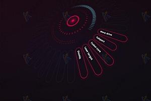 纯CSS3实现创意3D炫酷动态导航菜单特效