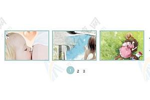 三张图片联动切换左右滚动鼠标经过显示标题jQuery特效