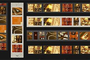 jQuery多种风格样式图片无缝滚动插件