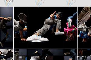 创意网格相册图片炫酷展示jQuery特效代码