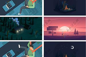 鼠标滚动图片炫酷加载出现动画js特效下载