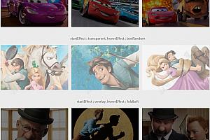鼠标经过图片多种炫酷遮罩弹出层特效动画js特效插件
