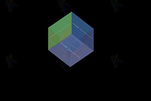 纯CSS实现炫酷3D立方体展示图片相册特效代码