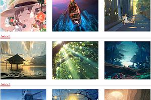 鼠标悬停图片多种精美动画效果js代码
