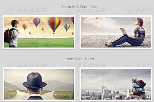 纯CSS3实现多种简单实用鼠标经过图片特效动画