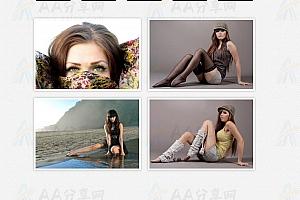 纯CSS实现鼠标悬浮经过图片多种特效遮罩特效动画