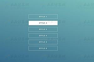 纯CSS实现鼠标悬停经过表单按钮各种炫酷动画特效代码