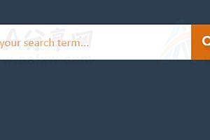 点击搜索按钮弹出搜索框js特效代码