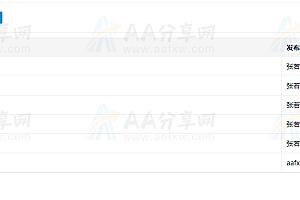 基于Vue.js开发的增删查改表单插件