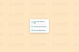 纯CSS实现炫酷多选表单按钮选择特效动画