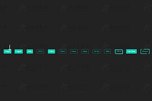 纯CSS实现炫酷鼠标悬停表单按钮动画效果特效代码