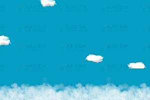 飘动的云动画效果