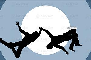 HTML5 SVG模拟动态人物拉伸运动特效动画