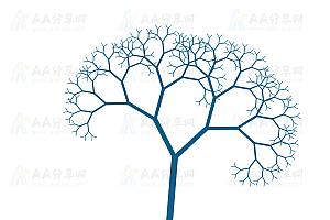 纯CSS3实现动态舞动小树特效动画代码
