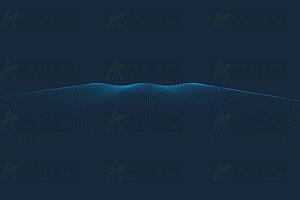 动态曲线网格粒子canvas波浪动画