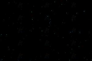 夜空繁星闪亮js特效动画背景