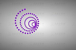多彩炫酷螺旋状圆球粒子特效动画代码