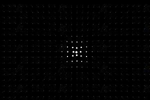 酷黑画布小灯跟随鼠标点亮获得焦点canvas动画