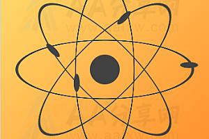 纯CSS实现原子绕行轨道canvas动画