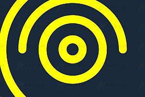 SVG实现动态旋涡状炫酷特效动画