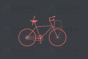 纯CSS实现动态自行车行驶特效动画