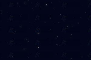 流行划过漫天繁星闪烁夜空js特效动画