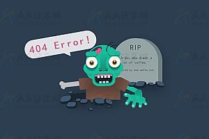 纯CSS实现动态可爱僵尸动漫人物特效动画