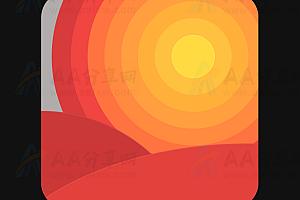 纯CSS实现动态日出日落特效动画
