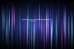 HTML5炫酷多彩3D悬浮极光效果canvas特效动画代码