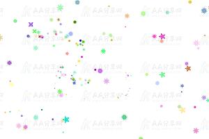 SVG绘制多种形状图案动态变化js特效动画背景