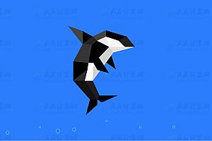 纯CSS实现动态炫酷海豚冒泡特效动画