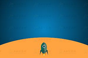 原生js实现卡通风格火箭升空到宇宙漫游特效动画