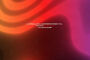 多彩炫酷光晕彩虹流动彩带canvas特效动画背景