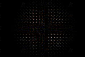 跟随鼠标晃动放射状点阵射线canvas动画