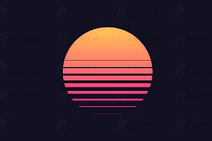 纯CSS实现多彩动态太阳炫酷动画背景