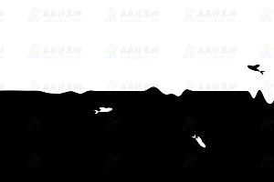 jQuery模拟鱼儿游动跳跃特效动画