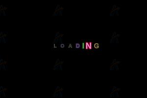 纯CSS实现网页加载中多彩文字动画特效代码