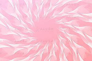 绚丽花瓣旋涡状canvas动画背景