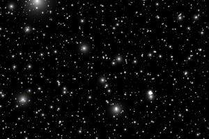 宇宙星空闪耀星星粒子canvas动画背景