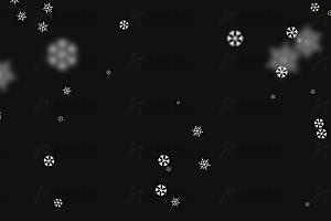 炫酷大雪纷飞飘落跟随鼠标晃动js动画