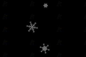 冰晶状雪花随机纷飞飘落js动画效果