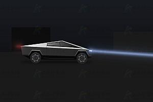 纯CSS模拟未来科幻汽车动态运动特效动画