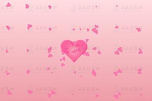 原生js实现炫酷浪漫表白动态爱心随机迸发散射canvas动画