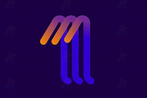 CSS+SVG绘制多彩路径动态伸缩特效动画